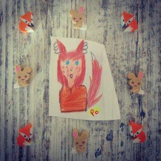 Dibujo de Alicia R.B. (8 años)