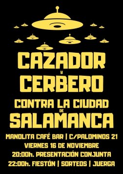 Cazador y Cerbero vs Salamanca