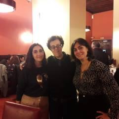 Con Lola e Irene Robles