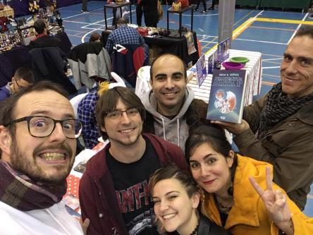 Amigos en el Salón del Manga de Alhaurin