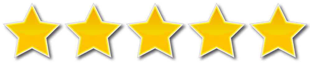 línea estrellas
